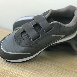 Other - Men's Athletics Shoe Wide Width Velcro Sneaker New